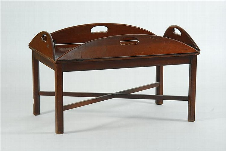 20th Century Butler 39 S Tray Style Coffee Table In Mahogany Wi