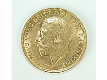 A 1912 sovereign.