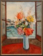 CHARLES LEVIER STILL LIFE OIL PAINTING ON CANVAS