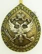 RUSSIAN SILVER & ENAMEL DOUBLE HEADED EAGLE SPOON