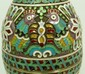 IMPERIAL RUSSIAN SILVER ENAMELED EGG OVCHINNIKOV