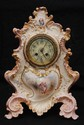 S. MARTI et CIE FRENCH PORCELAIN MANTLE CLOCK