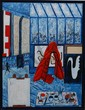 JACQUES HARVEY OIL 'L'ATELIER AU RIDEAU ROUGE'
