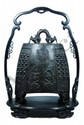 18th C. CHINESE IMPERIAL BRONZE TEMPLE BELL