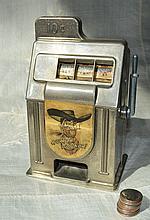 Rexco Los Vegas Nev Howdy Podner Slot Bank