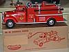 1950's Tonka Toys No. 46 Suburan Pumper Fire Truck