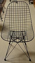 Set 4 Mid Century Eames  Metal Chairs