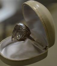 Sterling Silver Quartz Dinner Ring