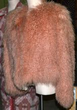 Pink Curly Lamb Jacket