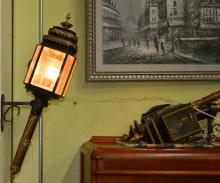 3 Pc. 1800's Converted Carriage Lamps