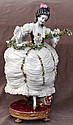 Sevres/Vincennes Porcelain Lace Figurine 1750's
