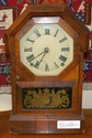 Victorian Seth Thomas Walnut Mantle Clock