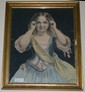 Victorian Framed Lithograph by
