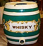1840's English Whiskey Pub Cask/Green