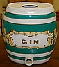 1840's English Gin Pub Cask/Green