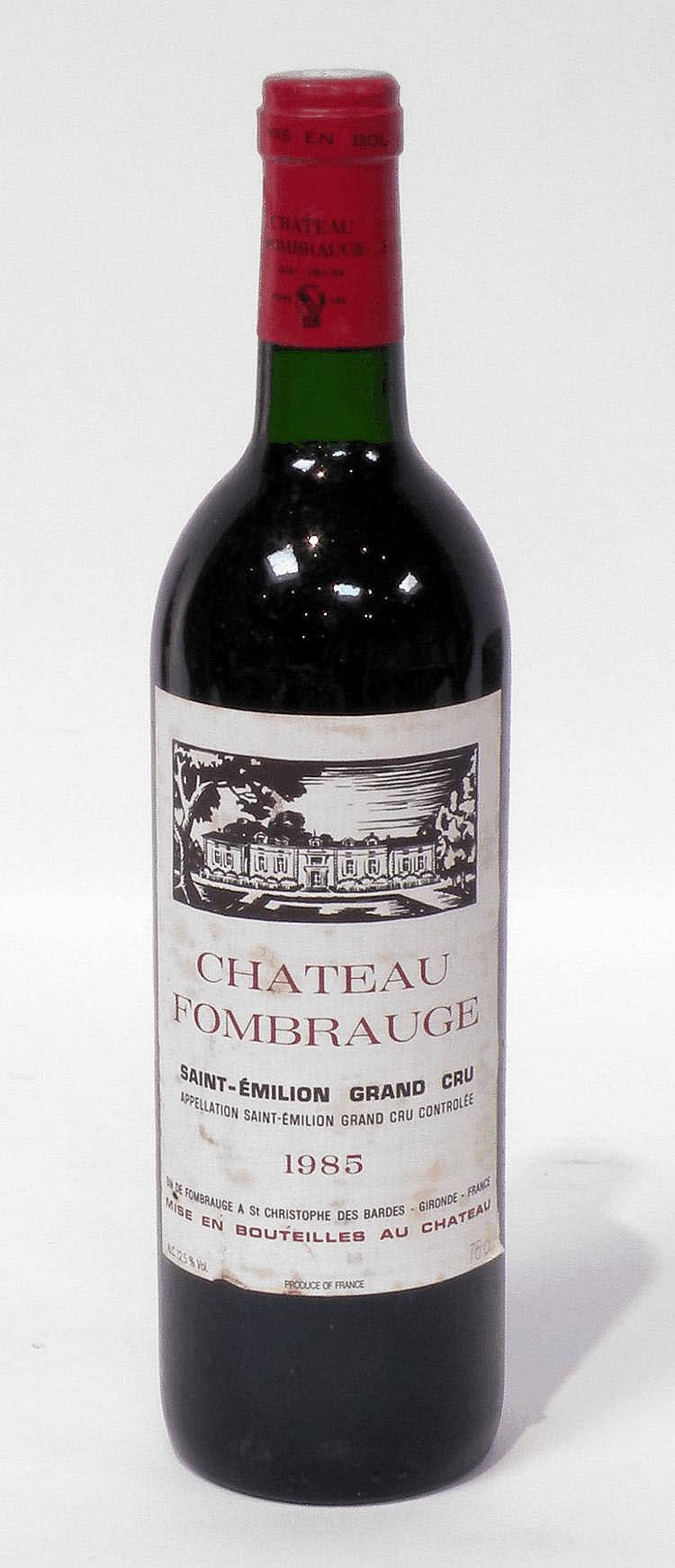 10 Bouteilles de CHÂTEAU Fombrauge 1985.