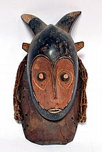 masque Gouro, beau travail artisanal RCI 35 cm