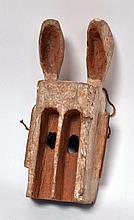 masque lapin Dogon (Mali), 39 cm