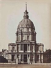 Gustave LE GRAY (1820-1884). Église des Invalides. Paris. 1859. Épreuve d'époque
