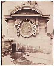 Eugène ATGET (1857-1927). Fontaine du Marché Saint-Honoré , Socle place de la Co