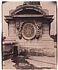 Eugène ATGET (1857-1927). Socle place de la Concorde. Paris 1er. 1905. Épreuve d