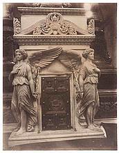 Eugène ATGET (1857-1927). Tabernacle du maître-autel de l'église Saint-Roch. Par