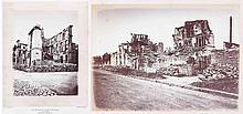 Alphonse J. LIEBERT (1827-1913/14). Les ruines de Paris et de ses environs. 1870