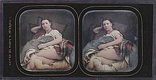 Alexis GOÜIN (New-York 1799/1800-Paris 1855). Augustine. Vers 1852-1854. Daguerr