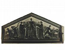 Édouard-Denis BALDUS (1813-1889). 519 négatifs papier d'époque-Réunion des Tuileries au Louvre : détails d'ar