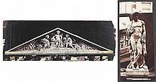 Édouard-Denis BALDUS (1813-1889). Sculptures et motifs pour Le Louvre. Paris. 18