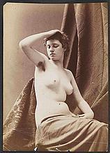 Louis Jean Baptiste IGOUT (1837-1881). Études académiques , nus féminins et masc
