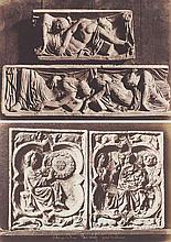 Henri LE SECQ (1818-1882). Collection de Mr Depaulis : empreintes et bas-reliefs