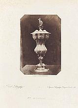 Louis Désiré BLANQUART-ÉVRARD (1802-1872). Ciboire ouvragé. 1851. Épreuve sur pa