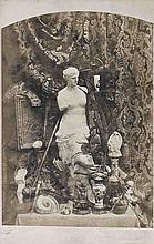 Adolphe BILORDEAUX (1807-1870). Nature morte à la Vénus de Milo. Vers 1855. Épre