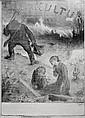 Charles LEANDRE (1862 - 1934). Leur Kultur. Affiche. 88 x 53 cm