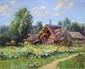 FILITOV Sergei. Sous le soleil d'une journée d'été. Huile sur toile. 40x50 cm