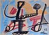 Jean-Michel ATLAN (1913-1960) Composition 1952. Pastel signé et daté en bas à dr