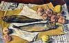 Germain DELATOUSCHE (1898-1966). Les harengs. Huile sur toile signée et datée 35