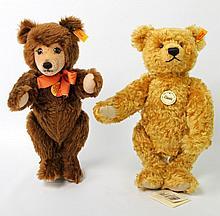 STEIFF zwei Teddybären, 2.H. 20.Jh.,