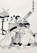 Tuschzeichnung. JAPAN, wohl GYOKURIN, 19. Jh.