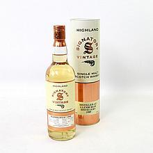 1 Flasche GLENBURGIE Signatory Vintage, Single Malt, 1989/2006,