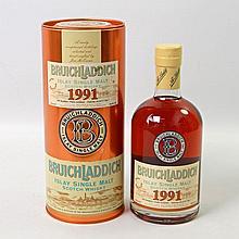 1 Flasche BRUICHLADDICH Islay Single Malt, 1991/2007