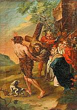 Heiligenmaler (18. Jh.), Jesus fällt unter dem Kreuz.