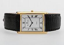 MAURICE LACROIX Armbanduhr, Gehäuse goldplattiert/Boden Edelstahl.