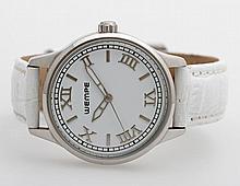 WEMPE Armbanduhr, Edelstahl, Quarz-Werk (Batterie neu!),