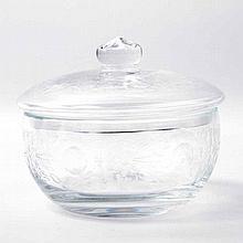 Bonboniere, Kristallglas, deutsch 20./21. Jh.