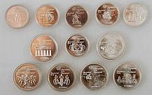 Kanada - Montreal 1976, 6 x 5 + 6 x 10 Dollars,