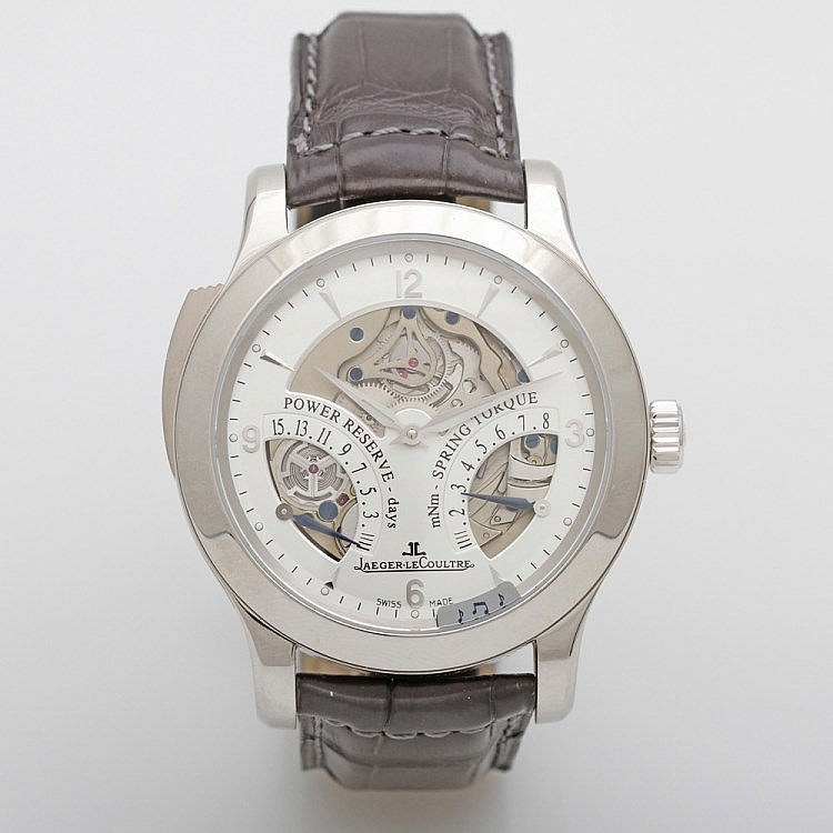 JAEGER LECOULTRE, Minute Repeater, PLATIN!, Lim. Auflage No. 194/200, NP ca. 198.000 €