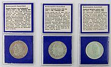 Bundesrepublik - Konvolut: 5 DEM Eichendorff (vz.);