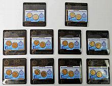 San Marino - 10 x Miniset 2003, 20 und 50 Euroscent,